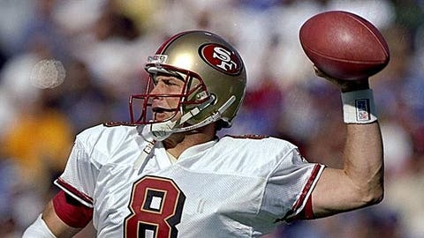 San Francisco 49ers: Letting Steve Young get away