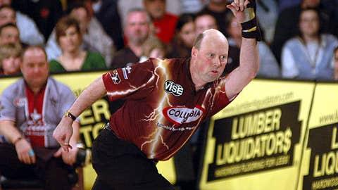 Bowling: Mike Scroggins