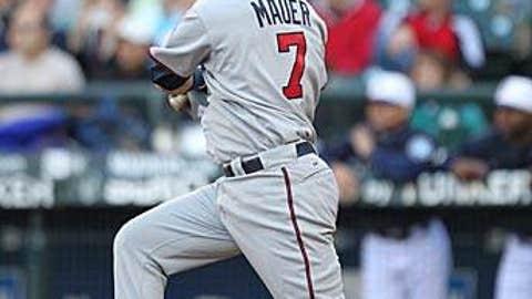 MLB: Lefty hitter - Joe Mauer
