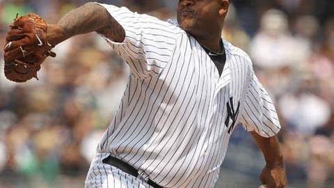 MLB: Lefty pitcher - CC Sabathia