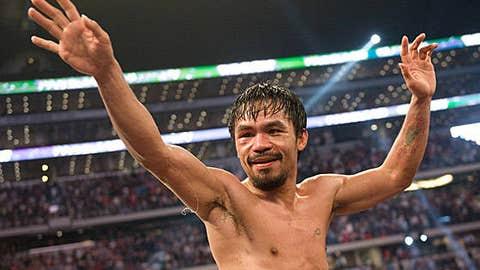 Boxing: Manny Pacquiao