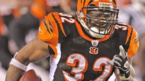 90. Cedric Benson, RB, Bengals (2009 Rank: Unranked)