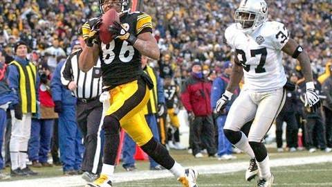 94. Hines Ward, WR, Steelers (2009 Rank: Unranked)