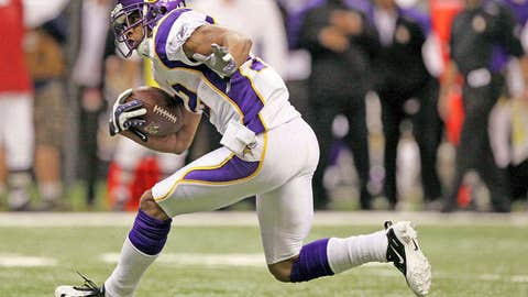 97. Percy Harvin, WR, Vikings (2009 Rank: Unranked)