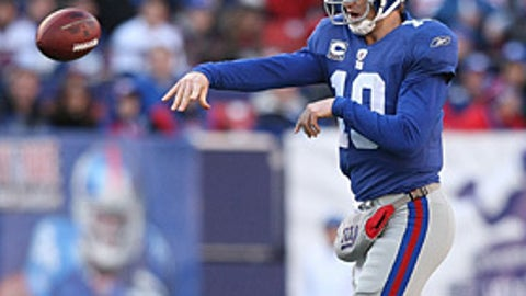 24. Eli Manning, QB, Giants (2009 Rank: 33)