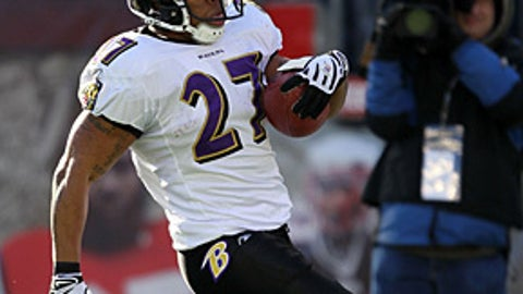 32. Ray Rice, RB, Ravens (2009 Rank: Unranked)