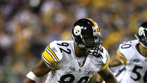41. James Harrison, LB, Steelers (2009 Rank: 11)