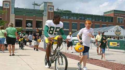 52. Greg Jennings, WR, Packers (2009 Rank: Unranked)
