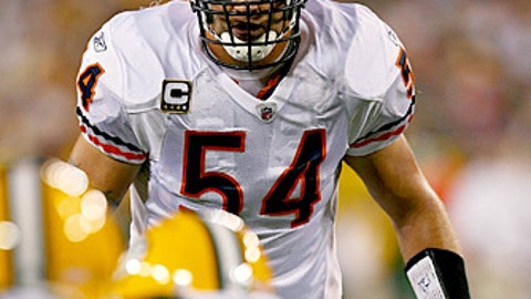 66. Brian Urlacher, LB, Bears (2009 Rank: 52)