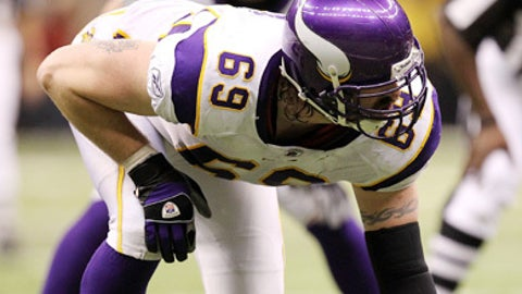 10. Jared Allen, DE, Vikings (2009 Rank: 8)