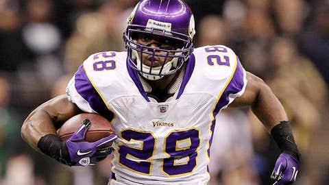 15. Adrian Peterson, RB, Vikings (2009 Rank: 5)