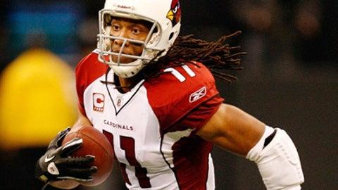6. Larry Fitzgerald, WR, Cardinals (2009 Rank: 4)