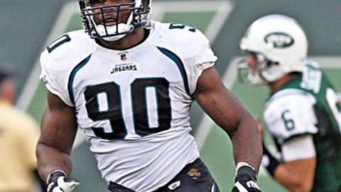 Derrick Harvey, DE, Jacksonville Jaguars