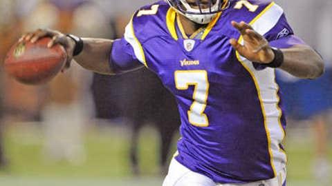 Tarvaris Jackson, QB, Minnesota Vikings