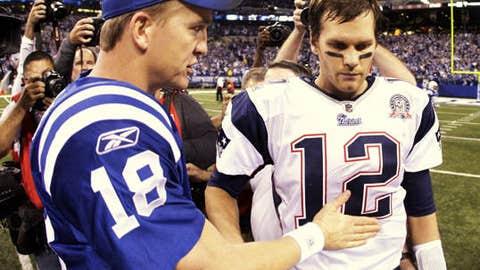 Colts at Patriots, Week 11