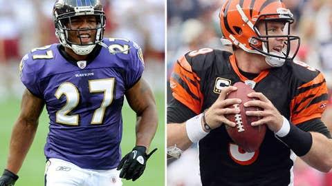 Baltimore Ravens at Cincinnati Bengals (Sunday, 1:00 p.m. ET, CBS)