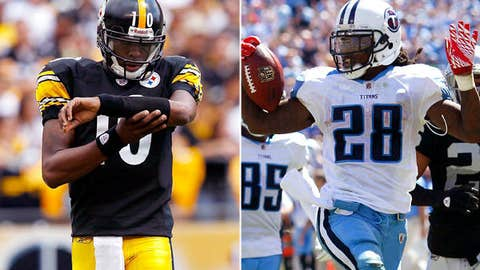 Pittsburgh Steelers at Tennessee Titans (Sunday, 1:00 p.m. ET, CBS)