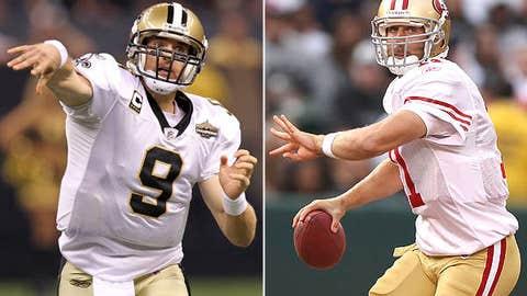 New Orleans Saints at San Francisco 49ers (Monday, 8:30 p.m. ET, ESPN)