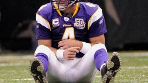 Brett Favre looks ... old