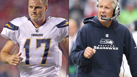San Diego Chargers at Seattle Seahawks (Sunday, 4:15 p.m. ET, CBS)