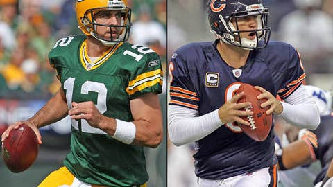 Green Bay Packers at Chicago Bears (Monday, 8:30 p.m. ET, ESPN)