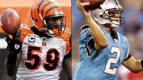 Cincinnati Bengals at Carolina Panthers (Sunday, 1 p.m. ET, CBS)