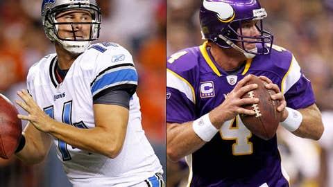 Detroit Lions at Minnesota Vikings (Sunday, 1 p.m. ET, FOX)