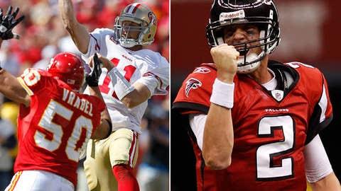 San Francisco 49ers at Atlanta Falcons (Sunday, 1 p.m. ET, FOX)