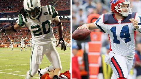 New York Jets at Buffalo Bills (Sunday, 1 p.m. ET, CBS)