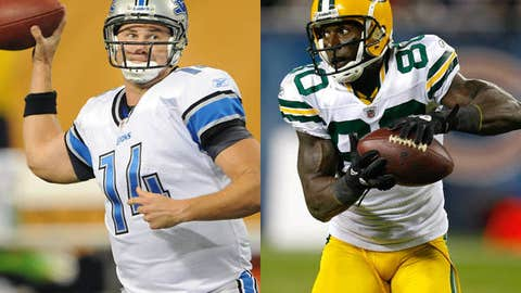 Detroit Lions at Green Bay Packers (Sunday, 1 p.m. ET, FOX)