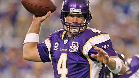 Brett Favre, QB, Vikings