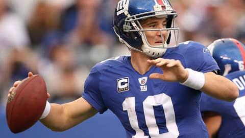 Eli Manning, QB, Giants