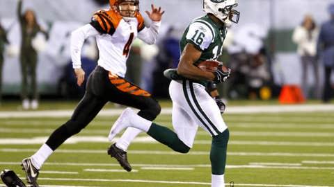 Brad Smith: Kickoff return vs. Bengals