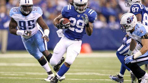 Joseph Addai, RB, Colts
