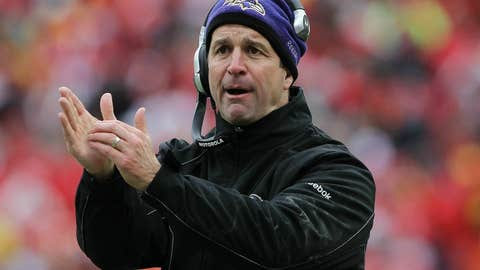 Guy - John Harbaugh, Ravens head coach