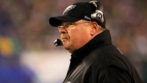 Andy Reid was the Eagles head coach