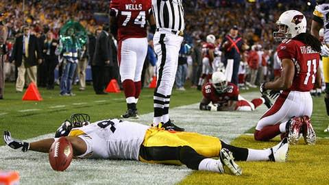 James Harrison, Super Bowl XLIII