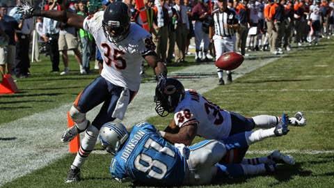 Sept. 12: Bears 19, Lions 14