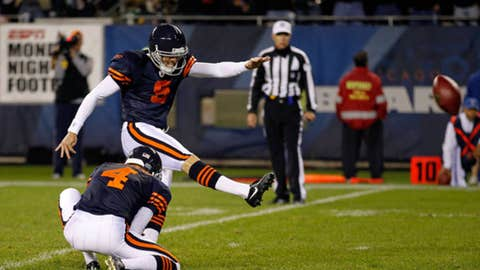 Sept. 27: Bears 20, Packers 17