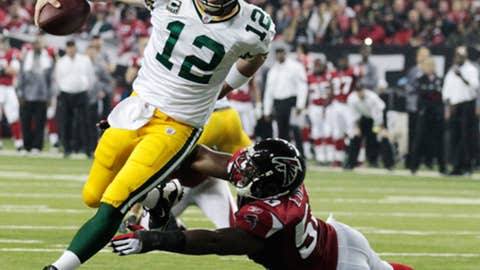 Jan. 15: Packers 48, Falcons 21