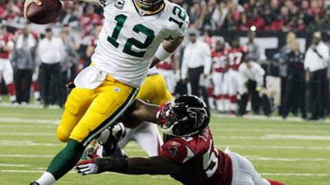 Jan. 15: Packers 48, Falcons 21