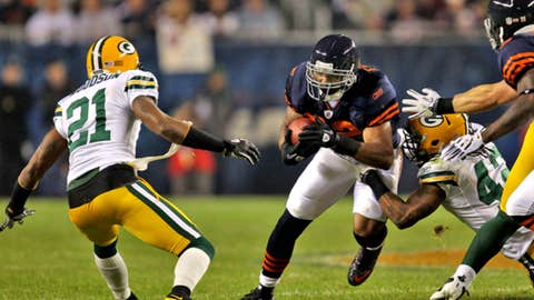 Sept. 27: Bears 20, Packers 17
