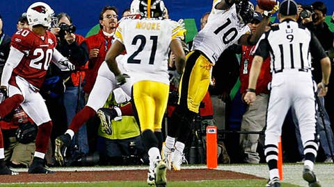 Super Bowl XLIII - Nice catch, Holmes!