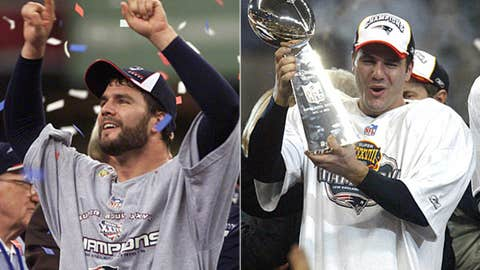 Super Bowls XXXVI and XXXVIII - Mr. Clutch