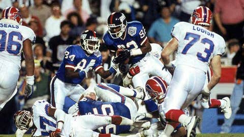 Super Bowl XXV - The 'broken' play