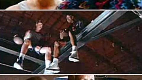 1993: McDonald's — Jordan and Bird's shooting contest