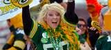 Super Bowl XLV fans and celebrities