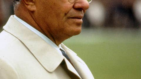 Vince Lombardi/Head Coach and General Manager/Green Bay Packers