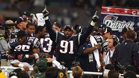 Patriots win Super Bowl XXXVI