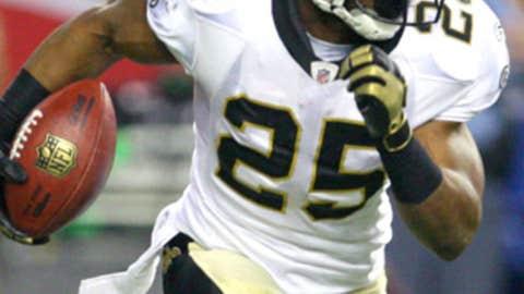 New Orleans Saints RB Reggie Bush